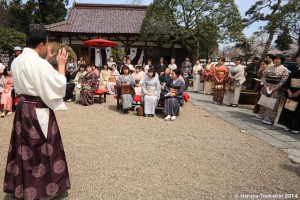 荘内神社にて